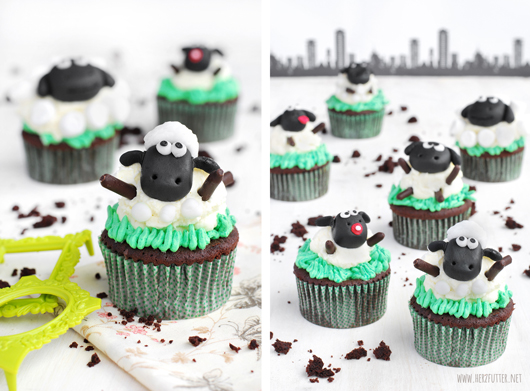 Schaun the sheep Cupcakes