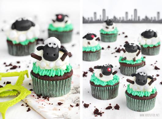 Schaun the sheep Cupcakes