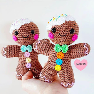 gingerbread amigurumi crochet