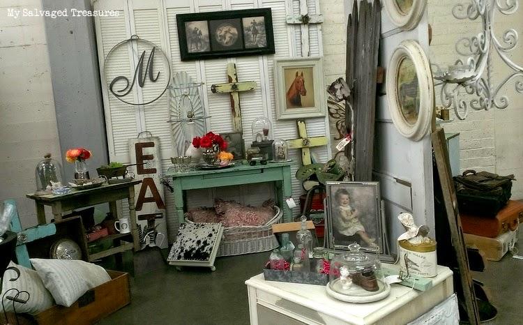 vintage sale repurposed items
