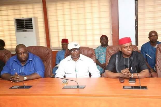 Sack ABSUTH, ABIAPOLY, ABIALINE managment, Labour tells Ikpeazu