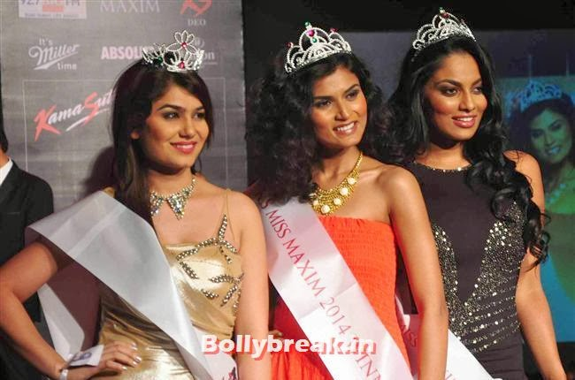 Kangna Sharma, Swapnila Gupta and Chandrika Ravi, Prachi Desai at Kamasutra Miss Maxim 2014