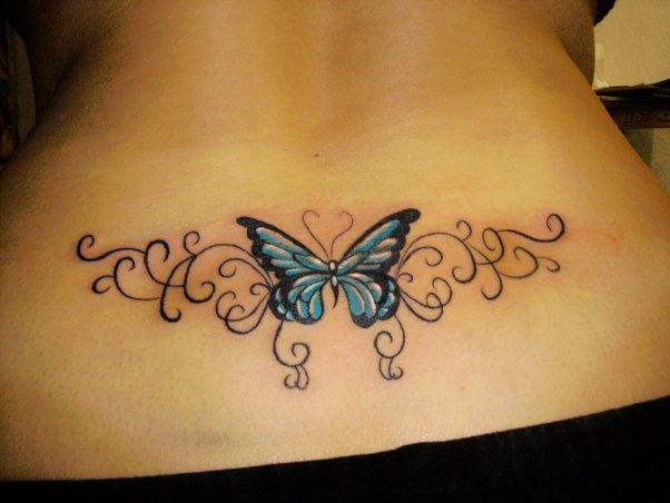 Sonhar Com A Mesma Pessoa Varias Vezes Significado: Imagens De Tatuagens Femininas Borboletas Nas Costas