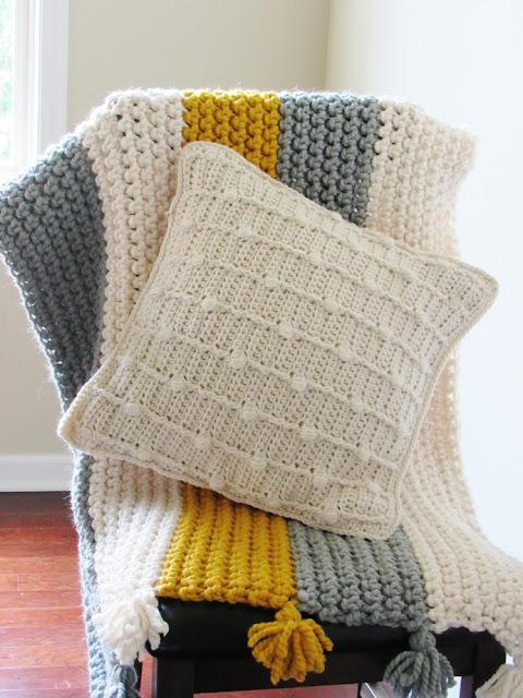 Textured Pillow Crochet Pattern