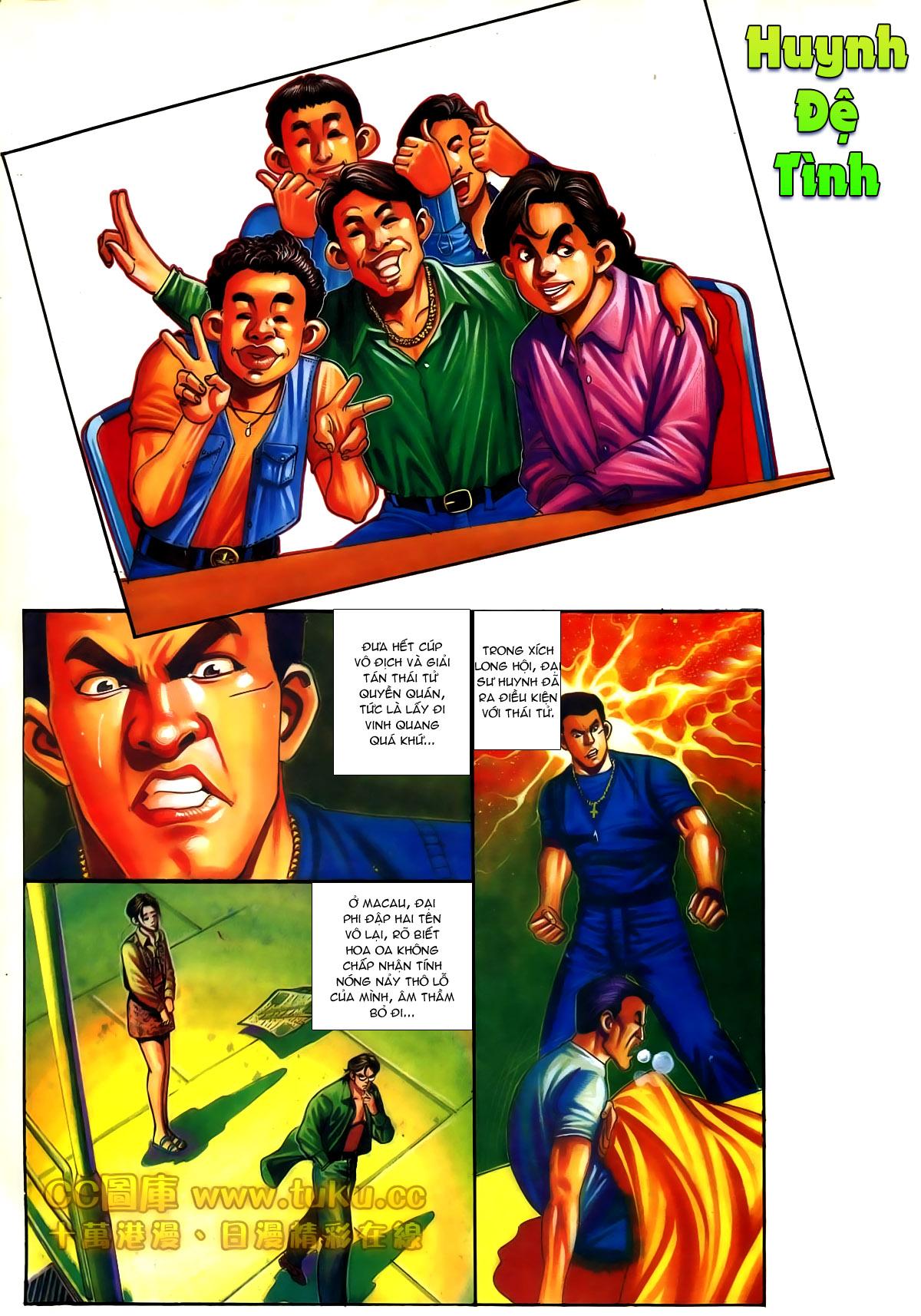 Người Trong Giang Hồ chapter 187: huynh đệ tình trang 2