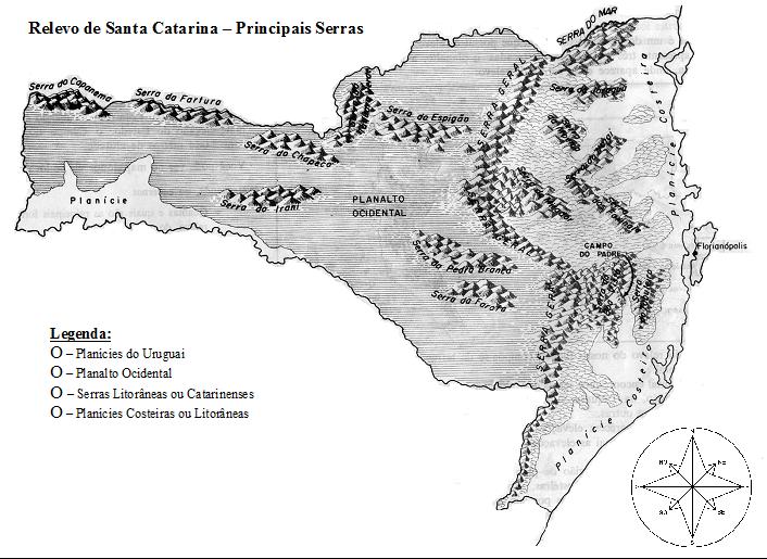 Mapas de Santa Catarina