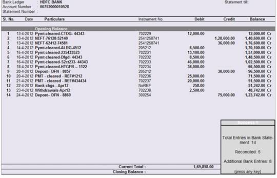 Bank Statement Template Excel bank statement template 9 free word – Template for Bank Reconciliation