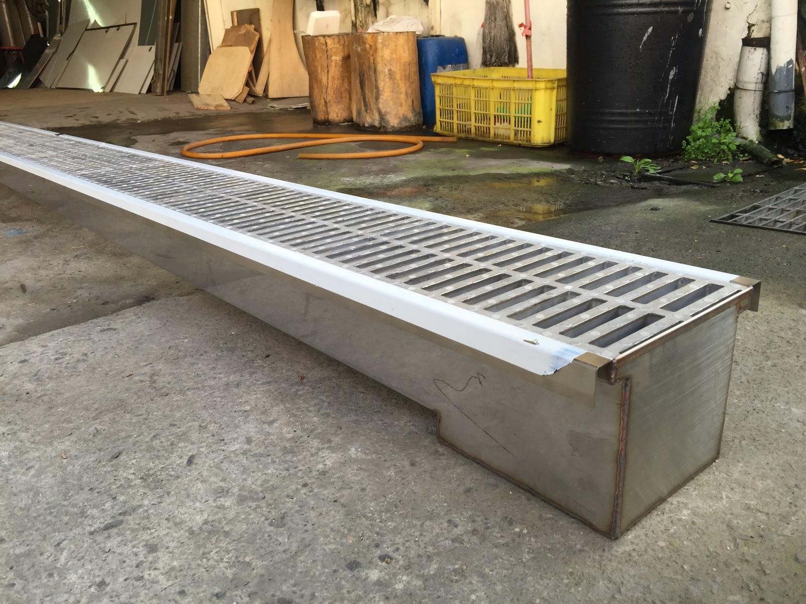 kitchen sink drain tudor remodel 400公分白鐵廚房水溝、白鐵截油槽、鈻製水溝蓋、截油槽 ...