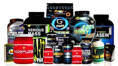 Suplementos de proteínas masa muscular