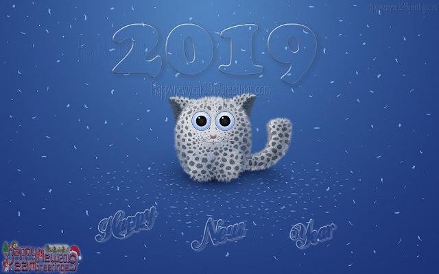 Happy New Year 2019 3D Photos HD Download - New Year 2019 Full HD 3D Photos Download Free