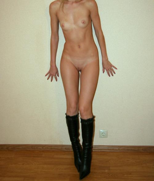 фото голых стройных худых девушек крупно
