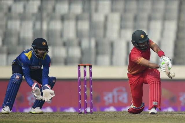 Sri Lanka beat Zimbabwe by 5 wickets