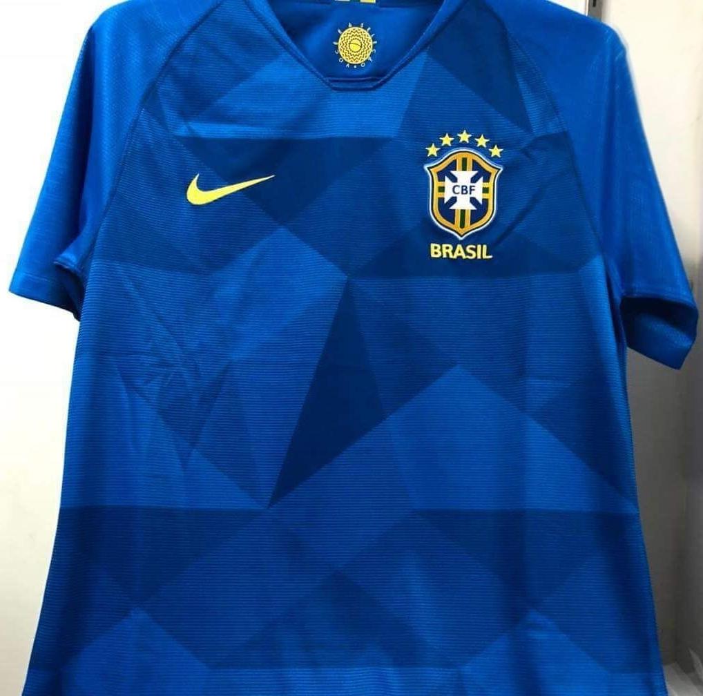 Nova camisa reserva do Brasil tem imagem vazada - Show de Camisas 84ef1d4b2543f