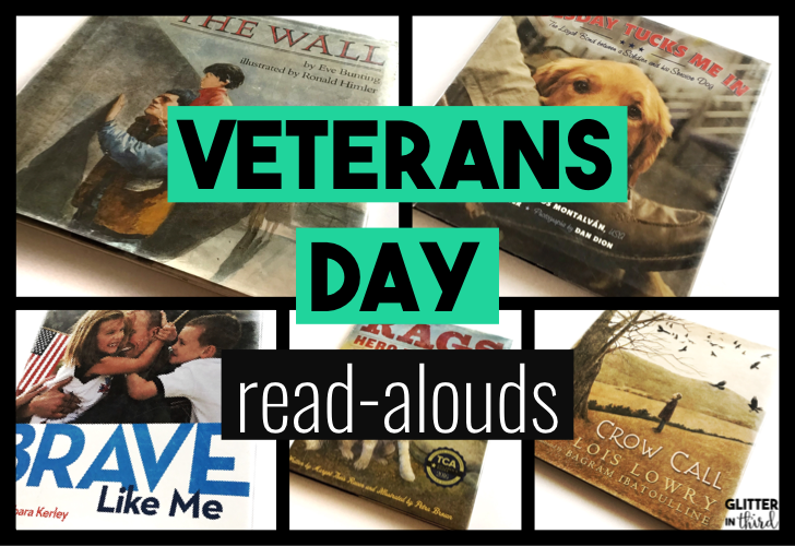 The Best Veterans Day Books For Your Classroom Glitter In