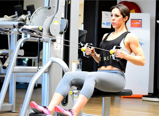 Reduce Back Fat Fast For Women- Seated Cable Row