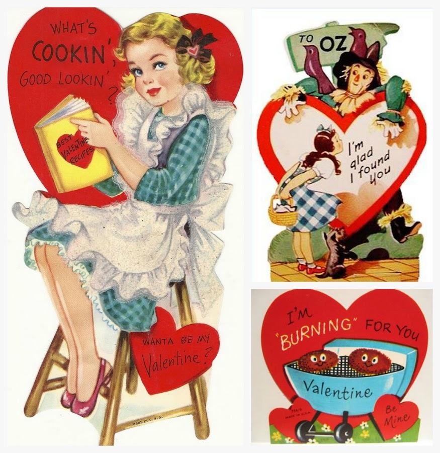 Postales antiguas de San Valentín
