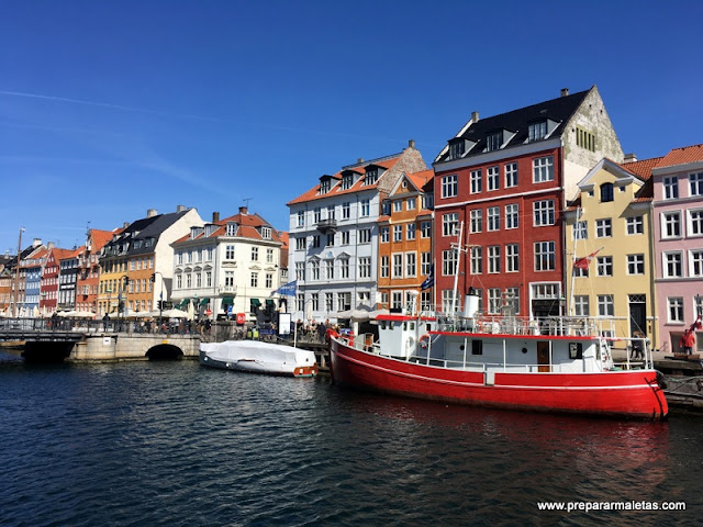 Un paseo por Nyhavn Copenhague