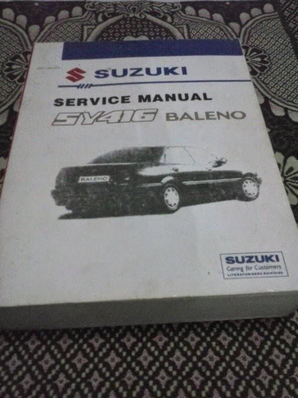 Service Manual dan    Wiring       Diagram    Mobil    Suzuki      Buku Bekas Berkualitas