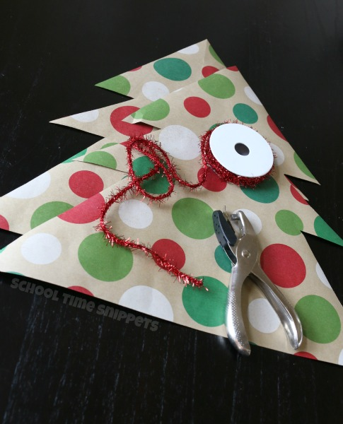 Christmas Fine Motor Skills Craft
