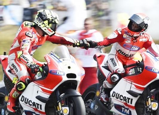 Sirkuit Basah, Duo Pebalap Ducati, Rajai MotoGP Malaysia 2017