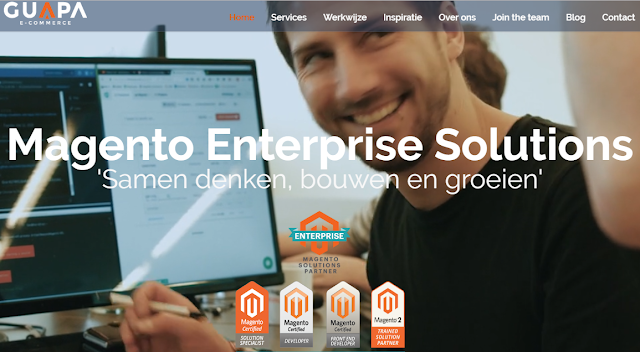 Guapa BV Magento e-commerce Enterprise Solutions Leek Groningen