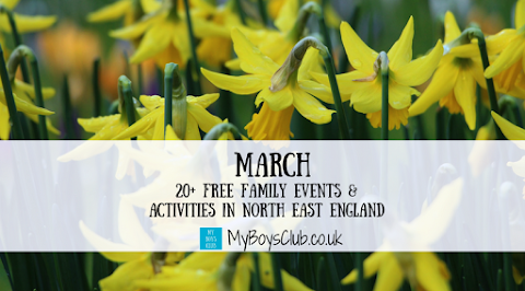 March FREE family events & activities in north east England