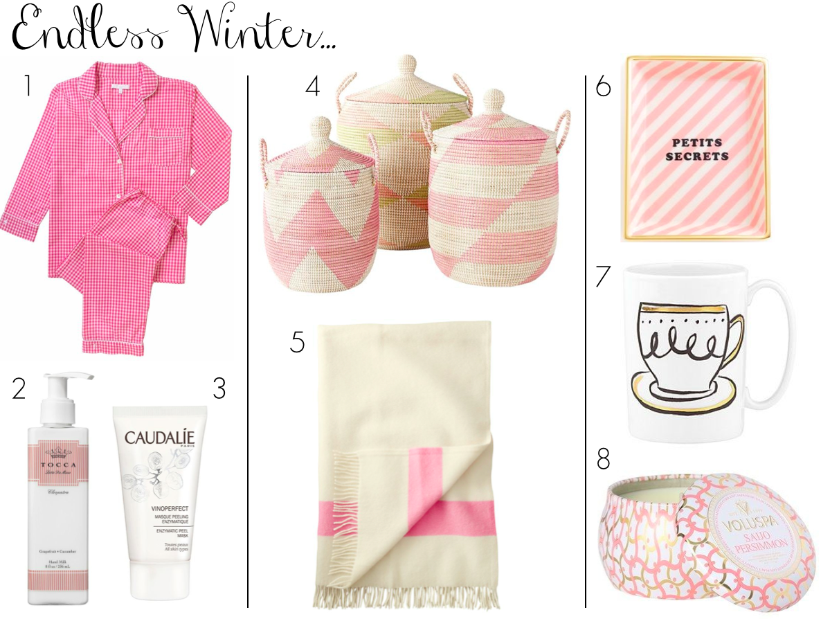cozy-winter-pajamas-blanket-candle-pink