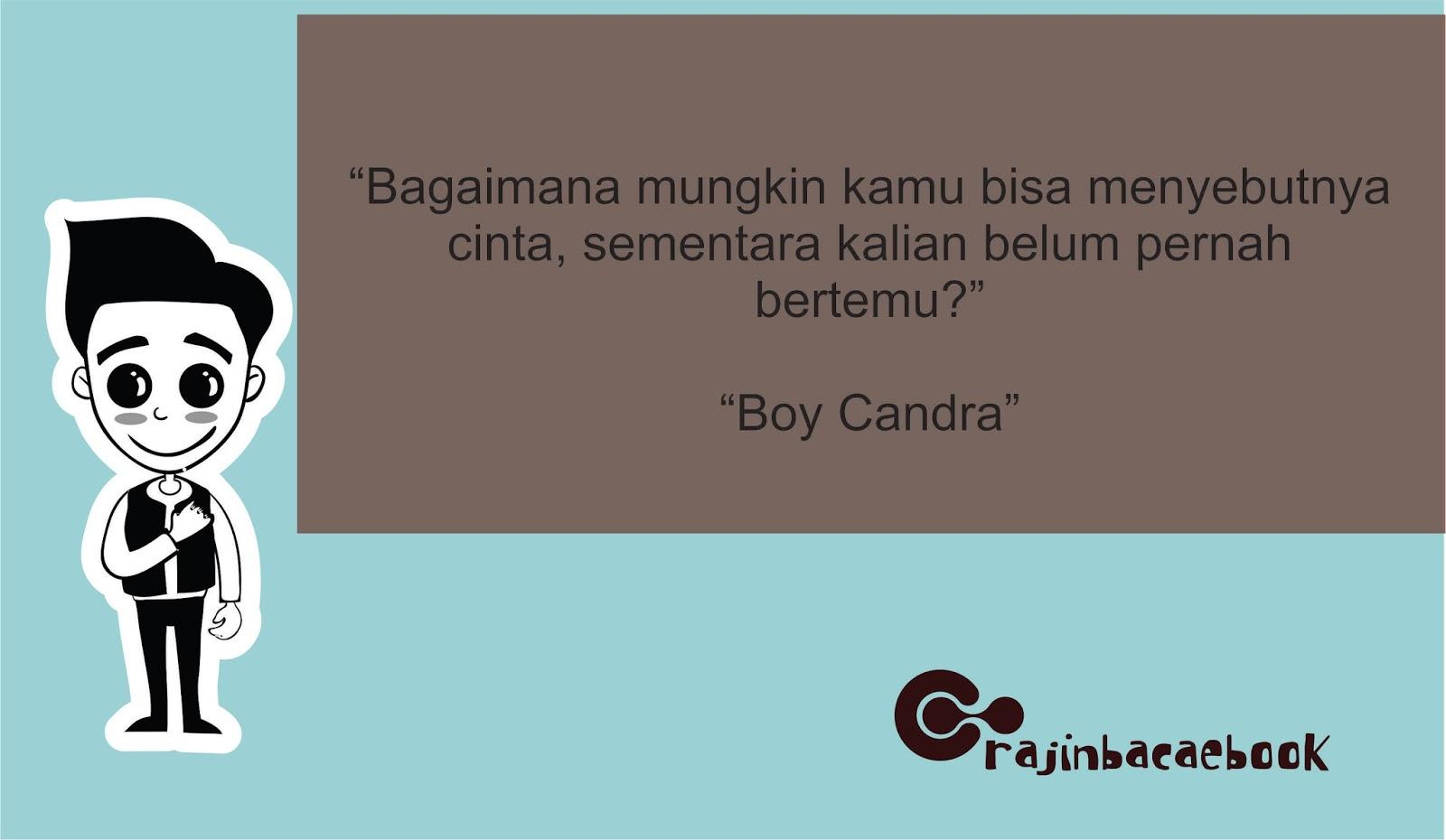 Download Review Ebook Gratis Boy Candra - Catatan Pendek untuk Cinta yang Panjang pdf - Penggiat ...