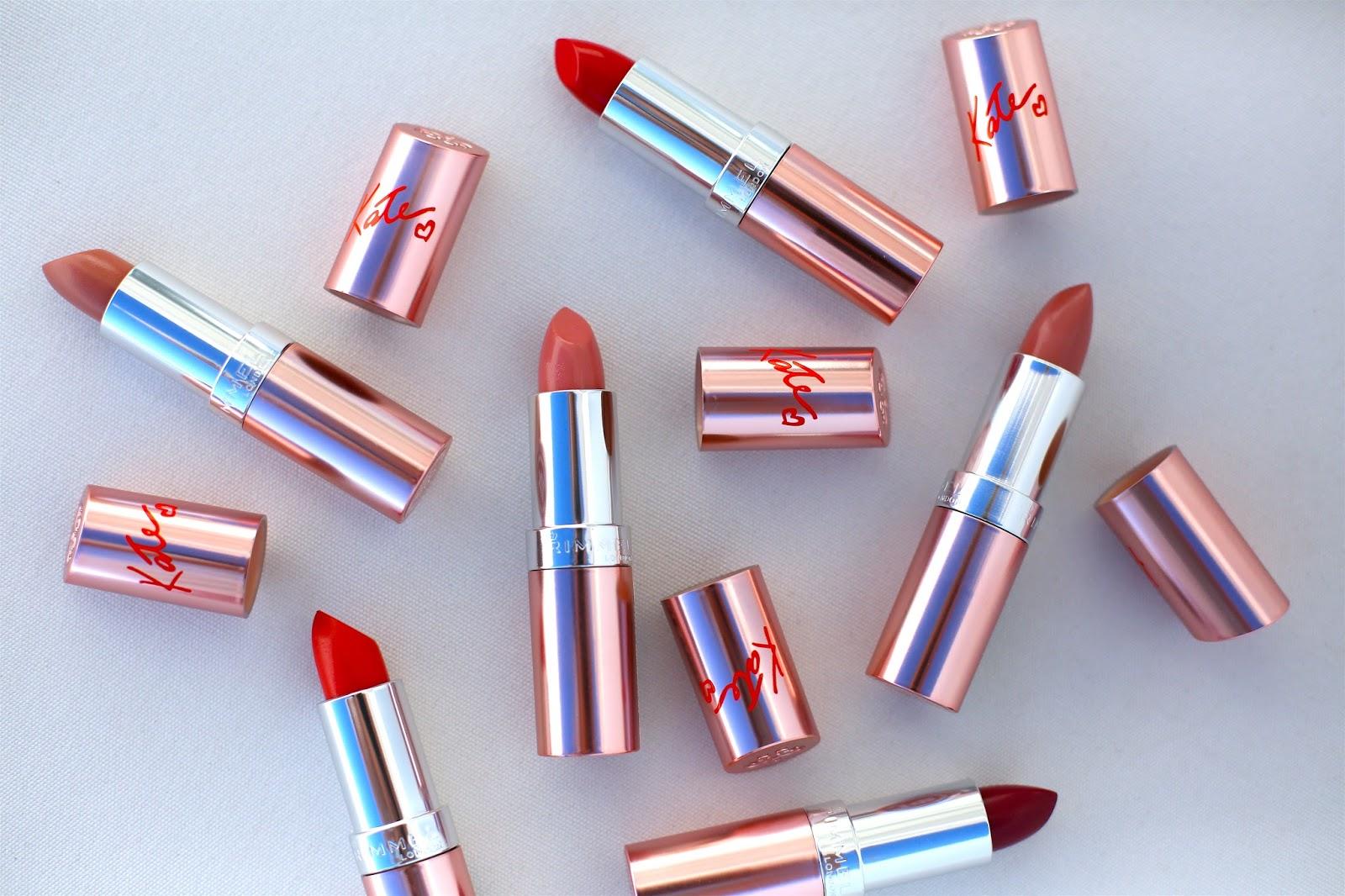 Kate Moss for Rimmel: Rose Gold Lipsticks