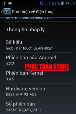 Chia sẻ rom stock  Mobiistar Touch Bean 402M alt