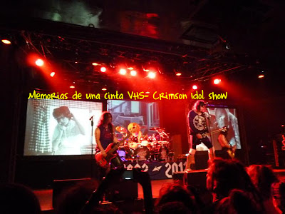 Crimson Idol tour 2012