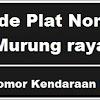Kode Plat Nomor Kendaraan Murung Raya