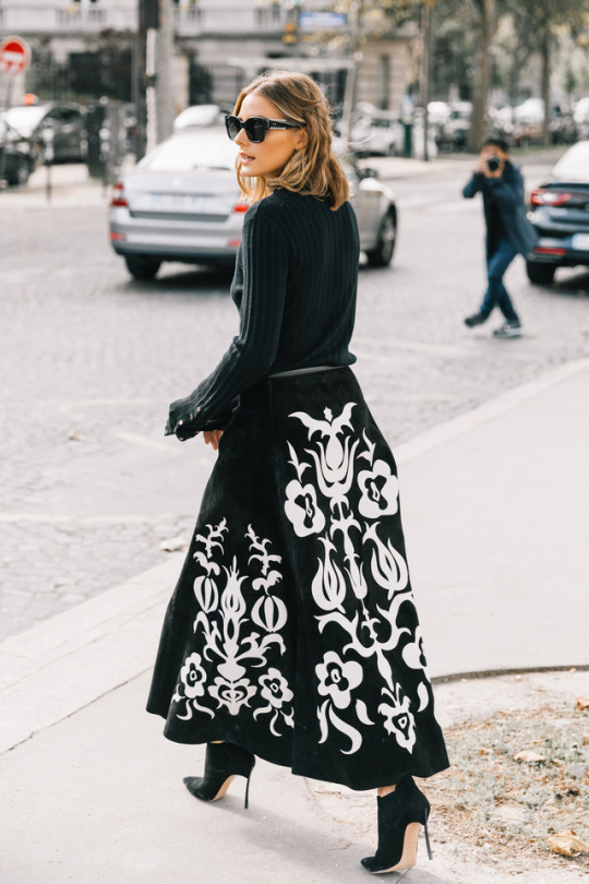 The Olivia Palermo Lookbook Olivia Palermo At Paris