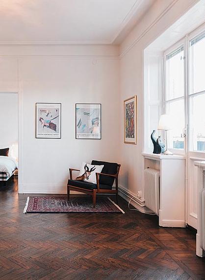 studio karin m rkt parkettgolv. Black Bedroom Furniture Sets. Home Design Ideas