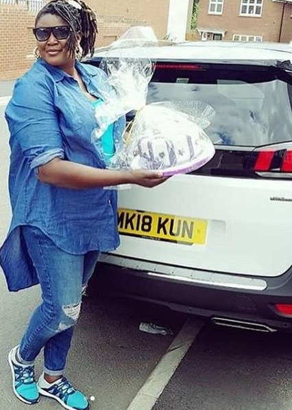 Photos Ays Sister Buys Self A Car As Birthday Gift