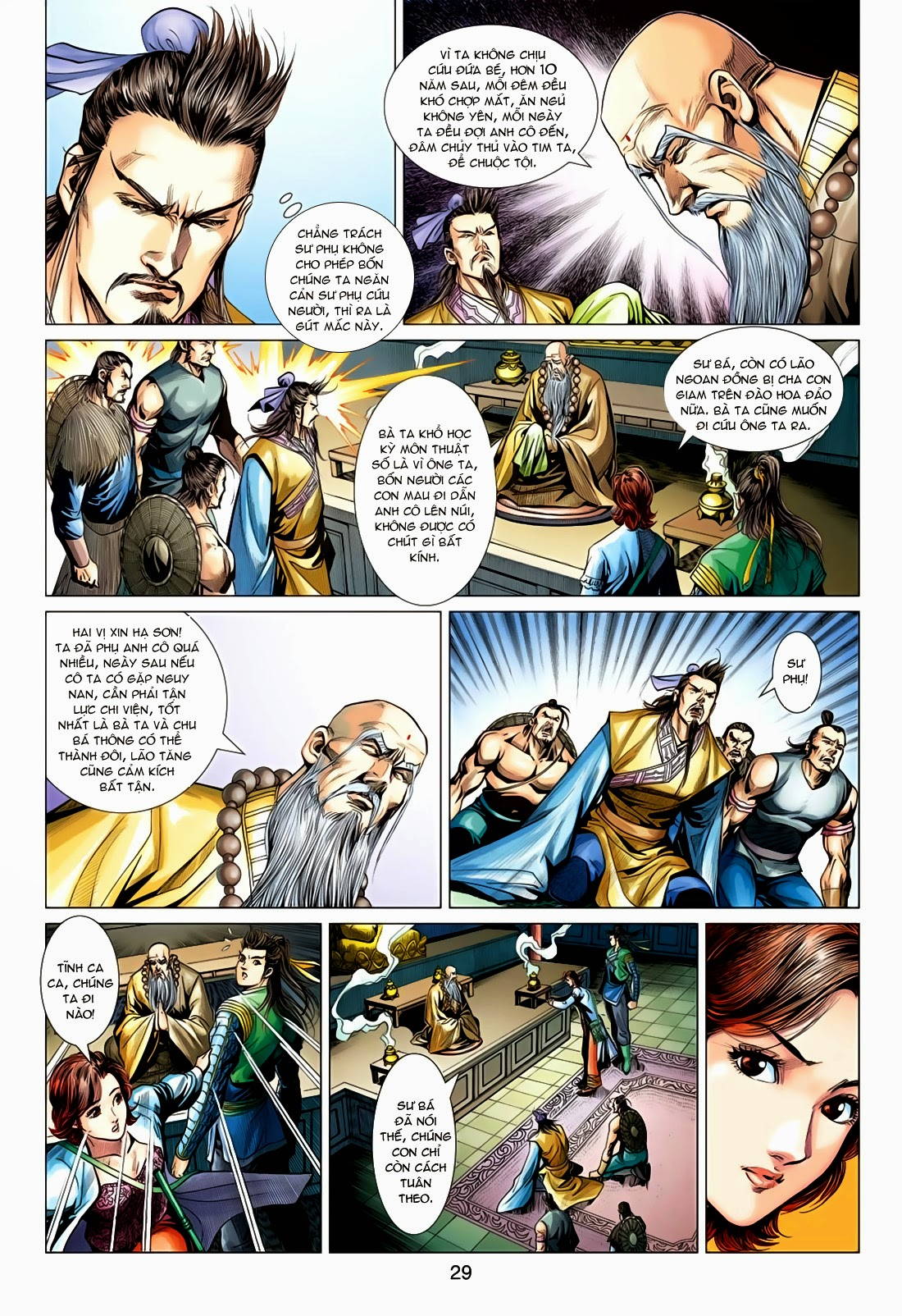 Anh Hùng Xạ Điêu anh hùng xạ đêu chap 78: sát anh trang 29