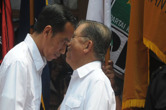 Gosip keretakan Hubungan Jokowi-JK