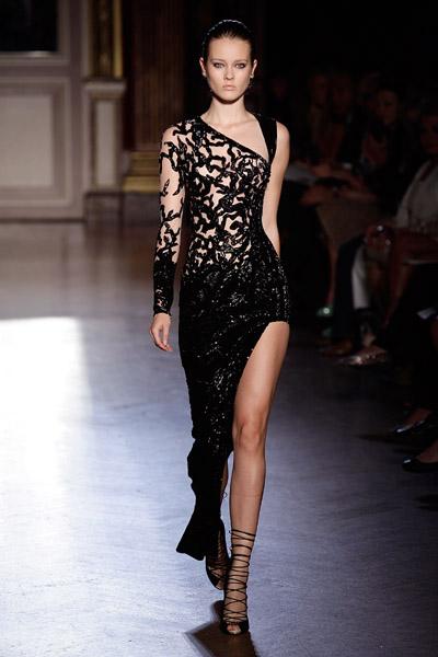 straight gown design