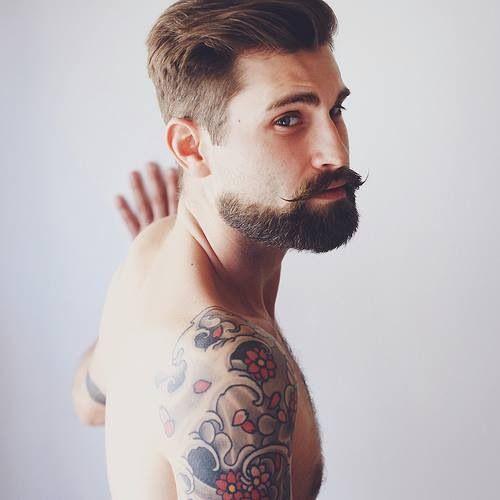 Barba Moda cavanhaque estilos