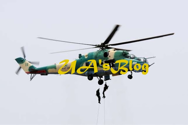 BREAKING: NAF aircraft crashes in Kaduna