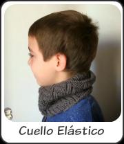 Cuello elástico para chico