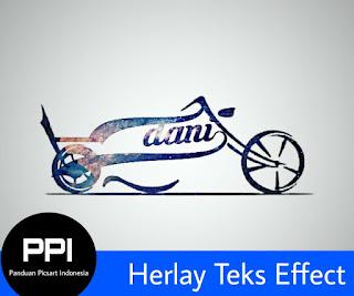 Tutorial Teks : Membuat Tulisan Motor Harley Dengan Picsart