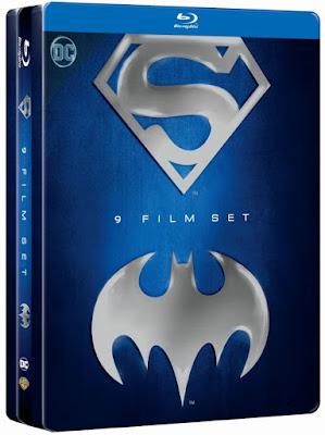 DVD/Blu-ray/VOD: Batman & Superman Anthology - Limited Tinbox
