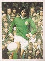 George best northern ireland sticker