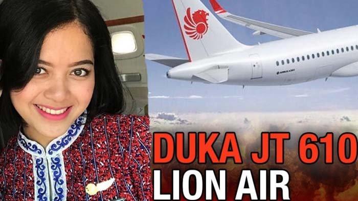 Gini Nih Curhatan Terakhir Pramugari Lion Air Yang Jatuh, Saya Dipaksa Pura-pura Senyum, Padahal Senyum Itu Duka
