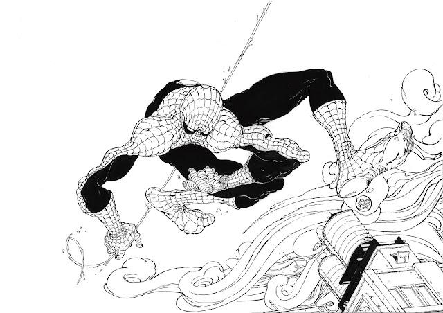 Spider-Man por Luciano Salles