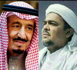 Allahu Akbar! Raja Salman Undang Habib Rizieq dan Pengurus GNPF-MUI ke DPR