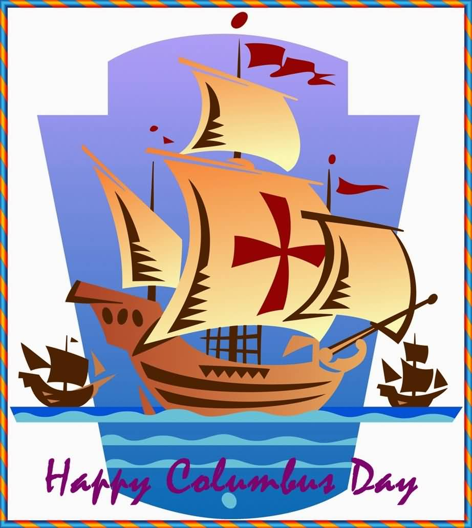 Happy-Columbus-Day-Greeting-Card