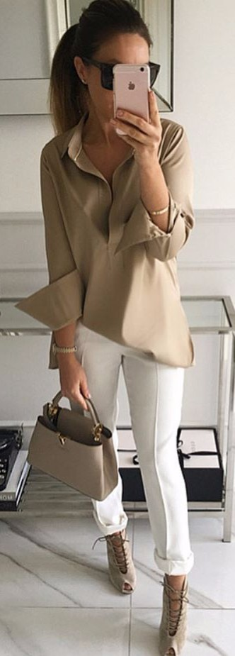 nude accents | street style