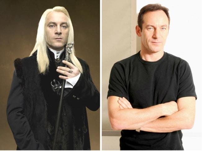 Lucius Malfoy interpretado por Jason Isaacs